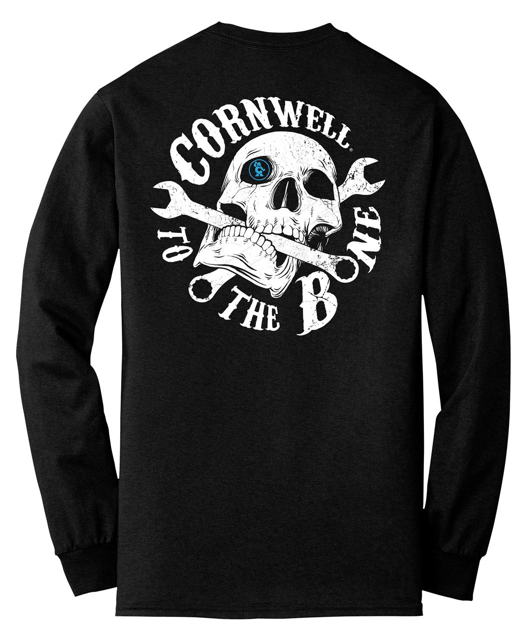 Picture of To The Bone L/S Black Pocket T-Shirt (CGTHBPT)
